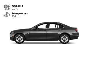 Аренда BMW 520 F10 черная в Санкт-Петербурге от