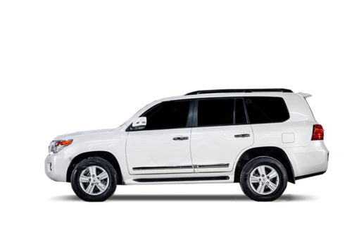 Аренда Toyota Land Cruiser 200 Белый в Санкт-Петербурге от